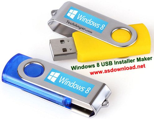 Windows 8 USB Installer Maker 1.0.23.12-نرم افزار نصب ویندوز 8 از طریق فلش usb