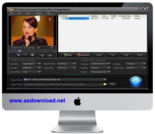 WonderFox HD Video Converter Factory Pro 9.4 + serial-نرم افزار تبدیل فیلم های HD