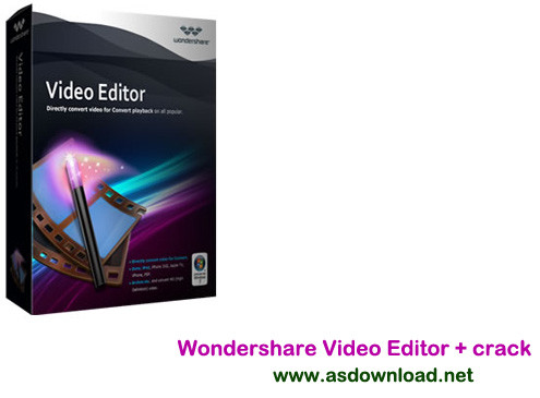 Wondershare Video Editor + crack