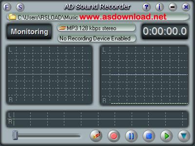 AD Sound Recorder 5.5.4 + keygen-نرم افزار ضبط صدا برای کامپیوتر با کیفیت بالا