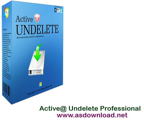 Active @ UNDELETE Professional v10.0.39 serial - بازیابی فایل های پاک شده