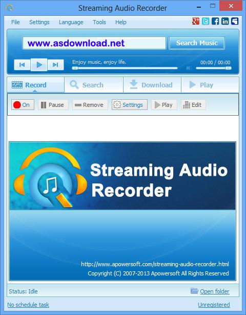 Apowersoft Streaming Audio Recorder 3.4.2 + keygen – نرم افزار ضبط صدا برای کامپیوتر