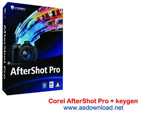 Corel AfterShot Pro 2.1.1.9 + x64 + keygen - نرم افزار مدیریت و ویرایش حرفه ای عکس ها