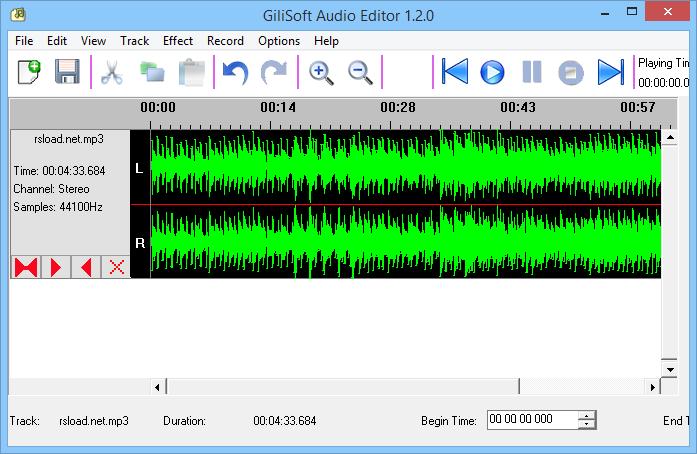 GiliSoft Audio Editor 1.3.0 crack - نرم افزار ویرایش فایل های صوتی