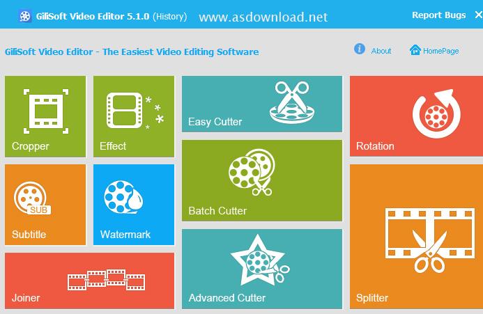 GiliSoft Video Editor 7.5.0 + keygen – نرم افزار ویرایش ویدئو
