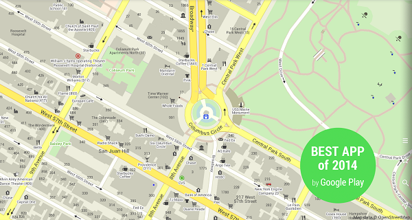 MAPS.ME –Offline Map & Routing