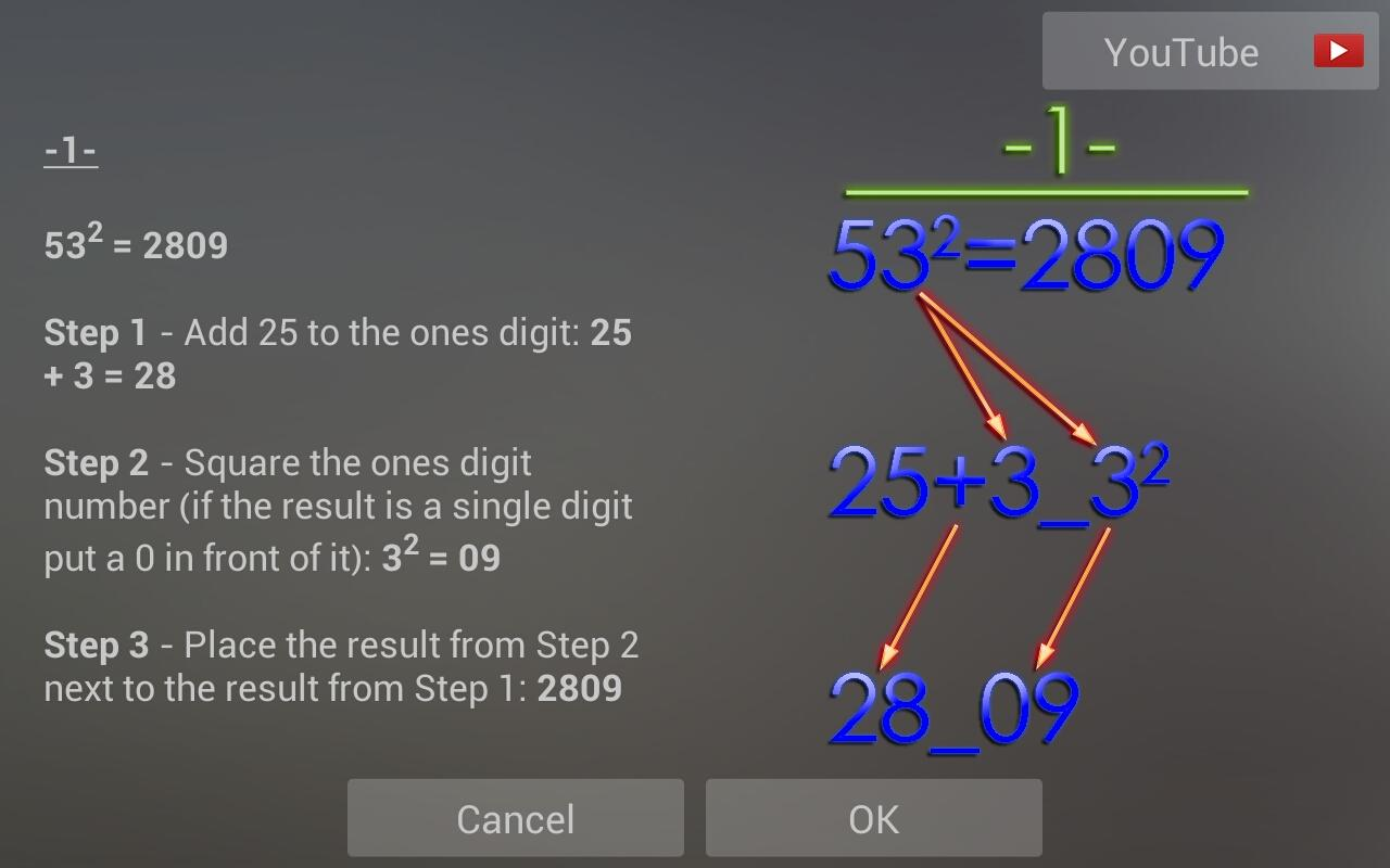 Math Tricks  (2)