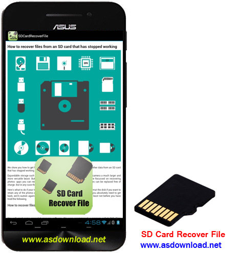 SD Card Recover File