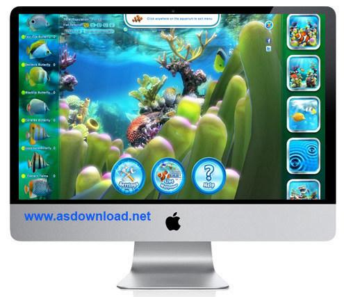 Sim Aquarium 3.8 Build 61- دانلود اسکرین سیور آکواریوم برای کامپیوتر