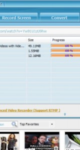 Streaming Video Recorder Screenshots