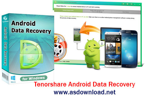 Tenorshare Android Data Recovery Tenorshare Android Data Recovery 3.2.6.9   نرم افزار ریکاوری گوشی های اندروید