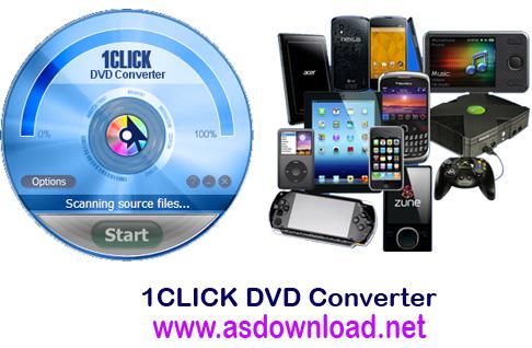 1CLICK DVD Converter 3.0.4.0 Patch - سریعترین نرم افزار تبدیل فرمت DVD