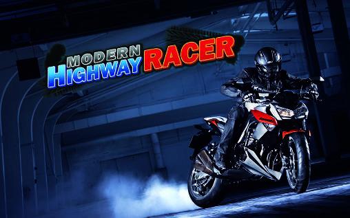 Modern highway racer 2015 - بازی مسابقه موتور سواری برای اندروید