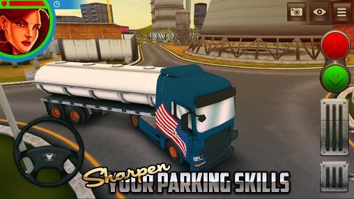 USA driving simulator - بازی اندرویدی حمل بار در جاده های آمریکا
