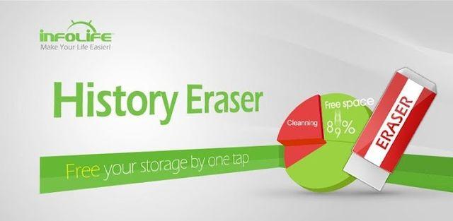 History Eraser - Privacy Clean 5.4.4 - نرم افزار پاکسازی تاریخچه و کش برنامه های اندروید