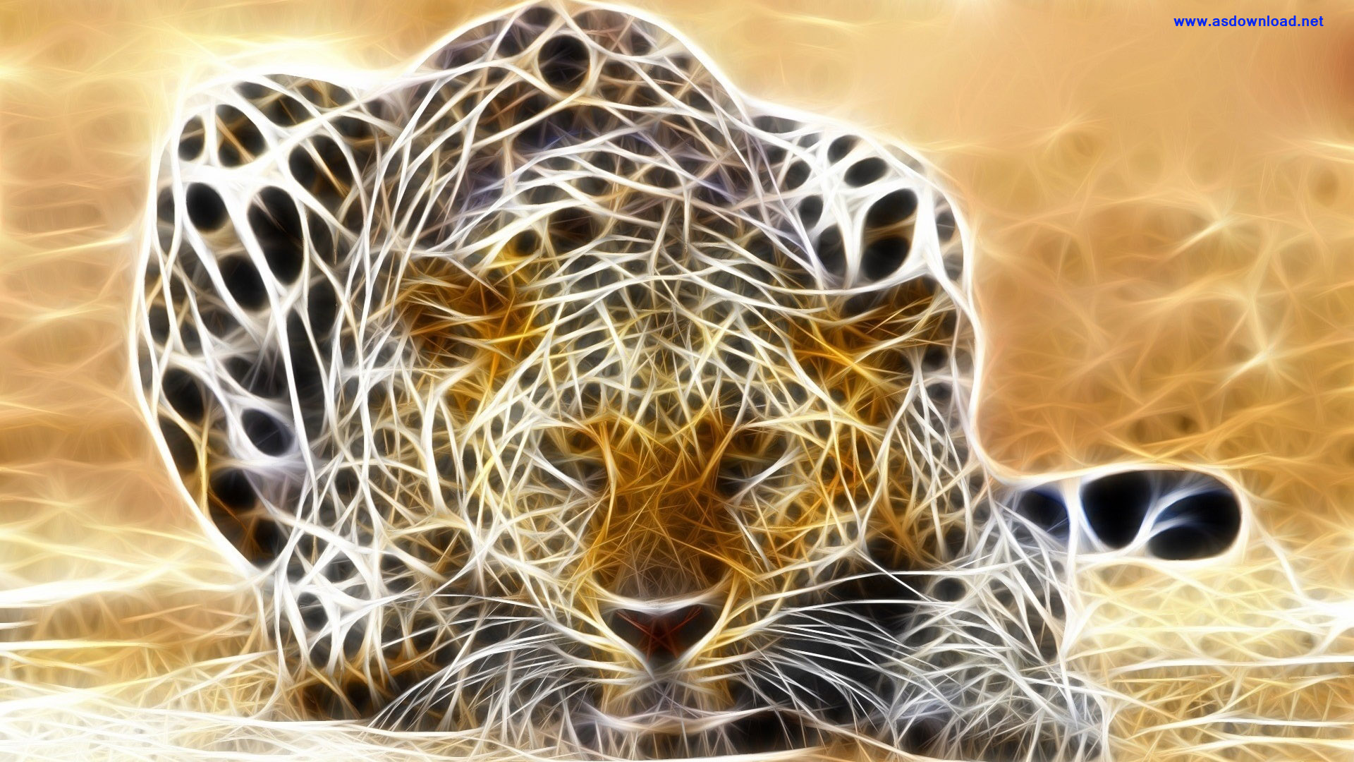 Jaguar-3D-Render-Fantasy-Wallpaper