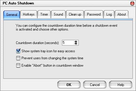 PC Auto Shutdown 6.0 - نرم افزار خاموش کردن سیستم در زمان دلخواه