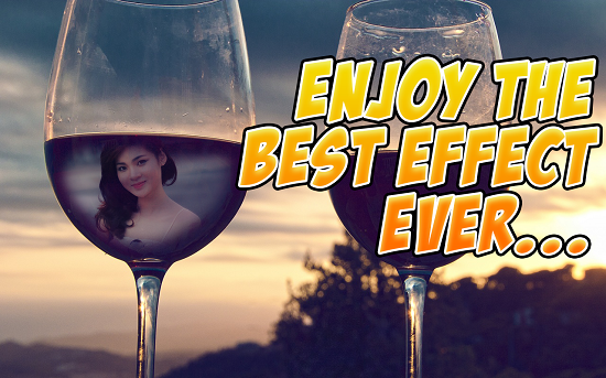 1-Wine Glass Photo Frames HD