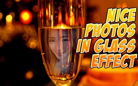 11-Wine Glass Photo Frames HD