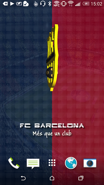 2-FC Barcelona Live Wallpaper