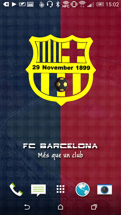 FC Barcelona Live Wallpaper - والپیپر زنده بارسلون برای اندروید