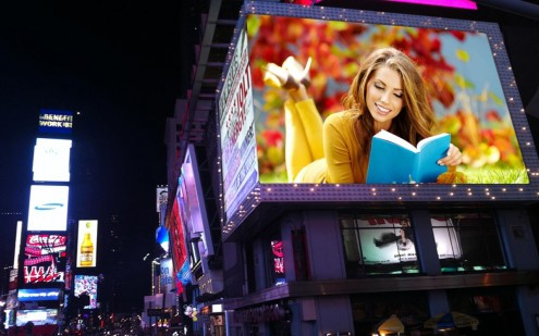 4-Billboard Photo Frames