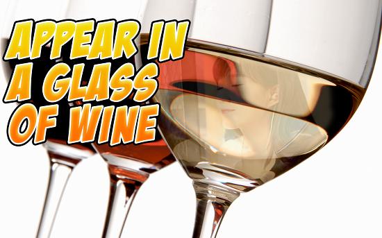 4-Wine Glass Photo Frames HD