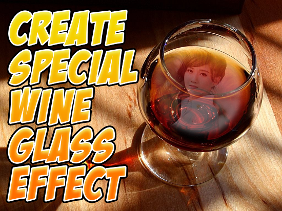 5-Wine Glass Photo Frames HD