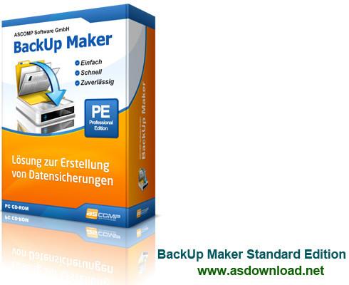 BackUp Maker v7.100 - نرم افزار بکاپ و بازیابی اطلاعات کامپیوتر