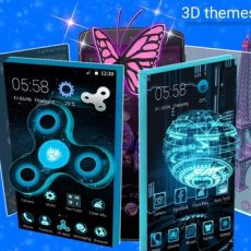 CM Launcher 3D - HD Theme & Live Wallpaper v3.53 – دانلود لانچر CM اندروید