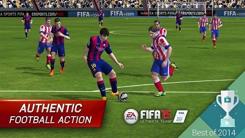 FIFA 15 Ultimate Team v1.3.2 - دانلود بازی فیفا 2015 برای اندروید + دیتا