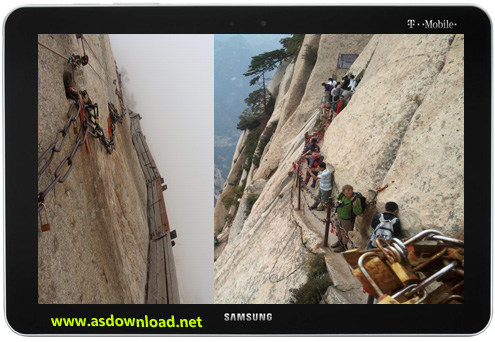 Huashan Mountain Most Dangerous Hiking Trail