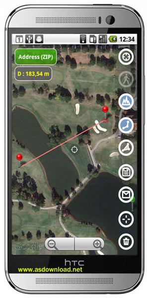 Planimeter GPS area measure v3.9.1 -نرم افزار محاسبه مساحت و مسافت برای اندروید
