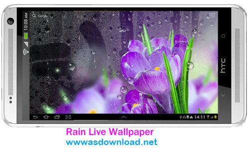 Rain Live Wallpaper - دانلود والپیپر زنده باران برای اندروید