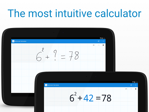 2-MyScript Calculator