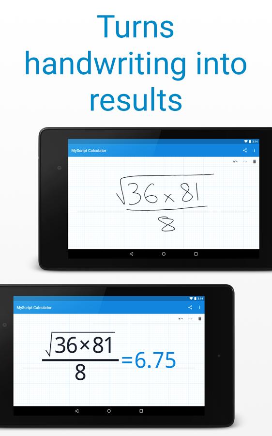 4-MyScript Calculator