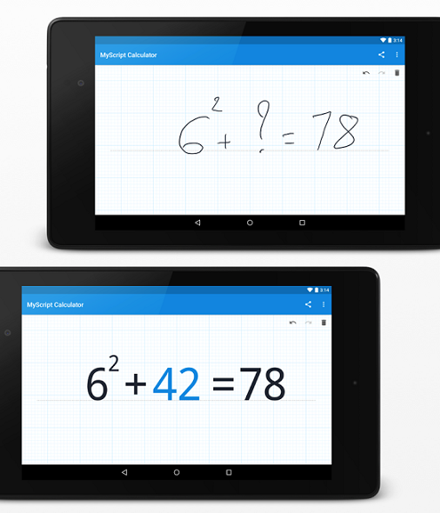 6-MyScript Calculator