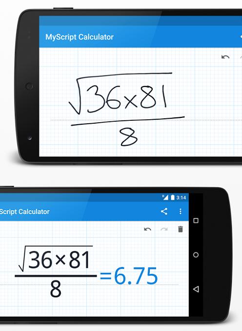 9-MyScript Calculator