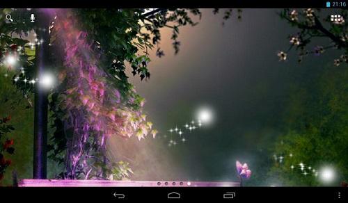 Fireflies Live Wallpaper - والپیپر زنده برای اندروید