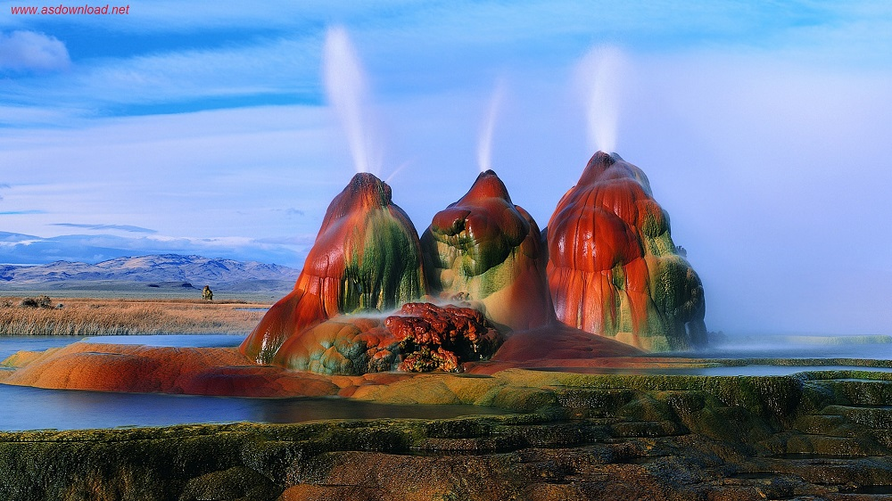 Fly-Geyser-Black-Rock-Desert-Nevada-Wallpaper