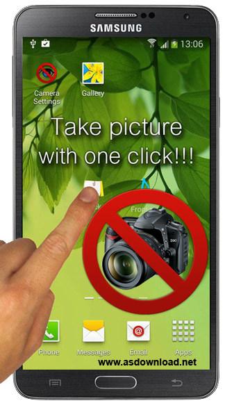 Hidden Camera v3.2 - نرم افزار عکس برداری مخفیانه با گوشی اندروید