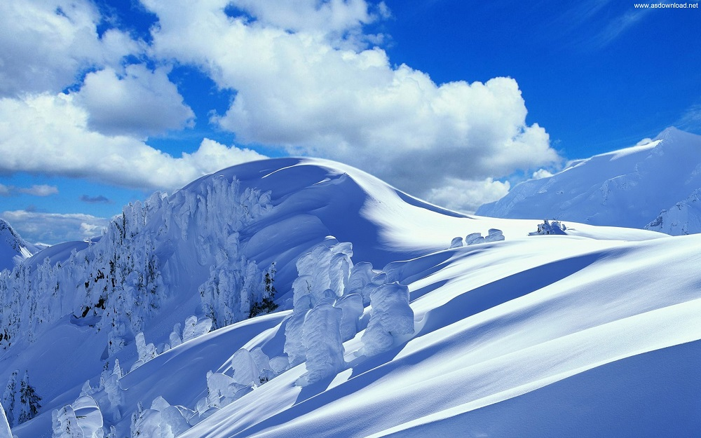 Mountain Snow Winter Wallpapers