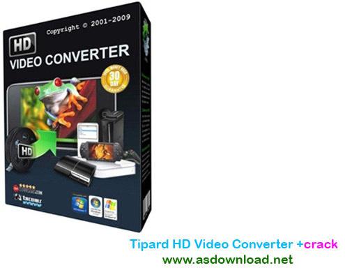 Tipard HD Video Converter 7.1.56 patch - نرم افزار تبدیل فیلم های HD