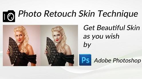 Photo Retouch Skin Technique - نرم افزار روتوش عکس با اندروید