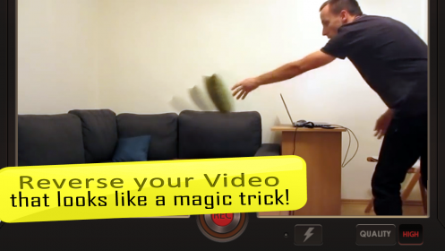 Reverse Movie FX magic video