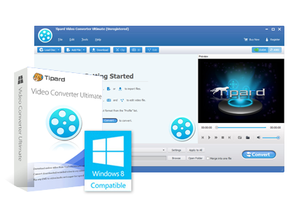 Tipard Video Converter Ultimate 9.0.26 crack  - نرم افزار تبدیل فرمت ویدئو