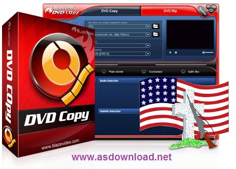 Blaze DVD Copy 7.0.0.1 + serial – نرم افزار کپی فیلم های DVD