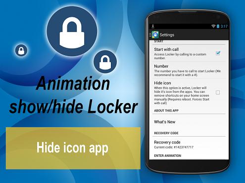 Apps Locker Master - قفل گذاری بر روی برنامه های اندروید