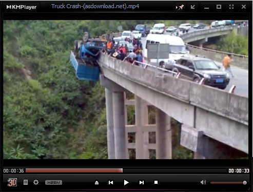 Photo of کلیپ عجیب ترین تصادف جهان و خوش شانس ترین راننده