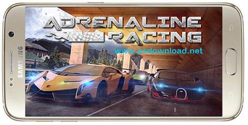 Adrenaline racing: Hypercars 1.0.8 - بازی مسابقه ماشین سواری آدرنالین + دیتا